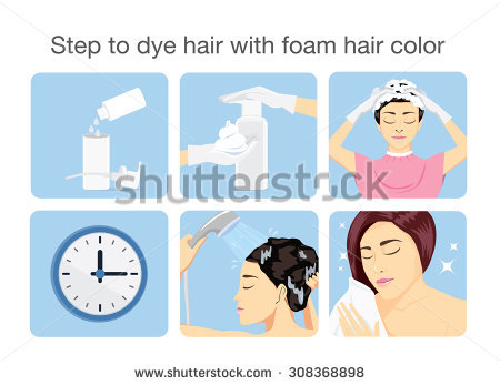 Dying Hair Stock Photos, Royalty.