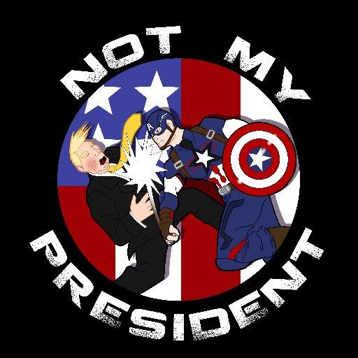 Dyer #NotMyPresident (@BasiliskOnline).