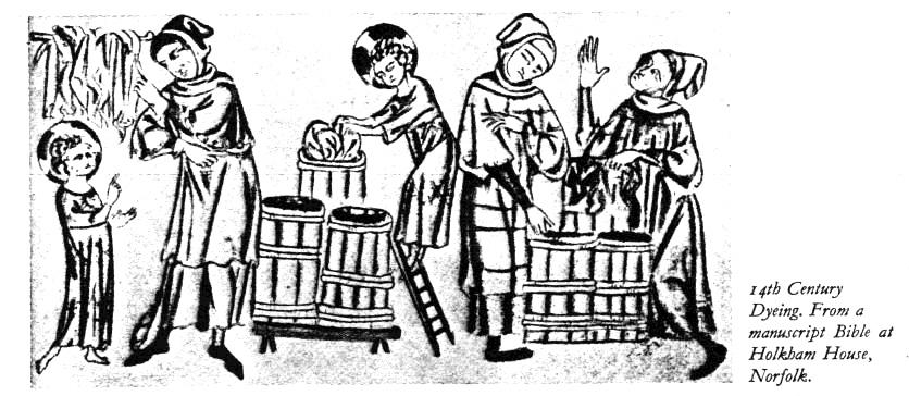 Ciba 1: Medieval Dyeing.