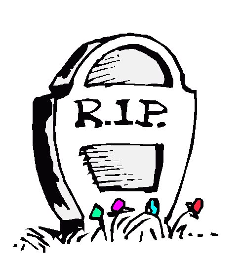 Someone Dying Clipart.