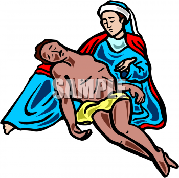 A man dying clipart.