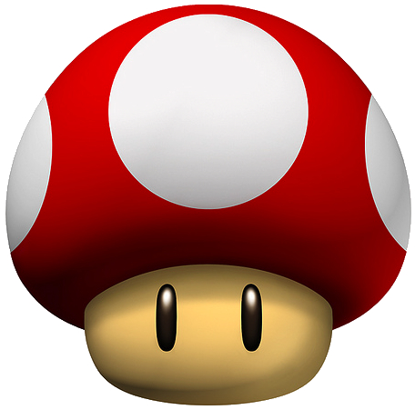 Ranking the Mario Mushrooms.