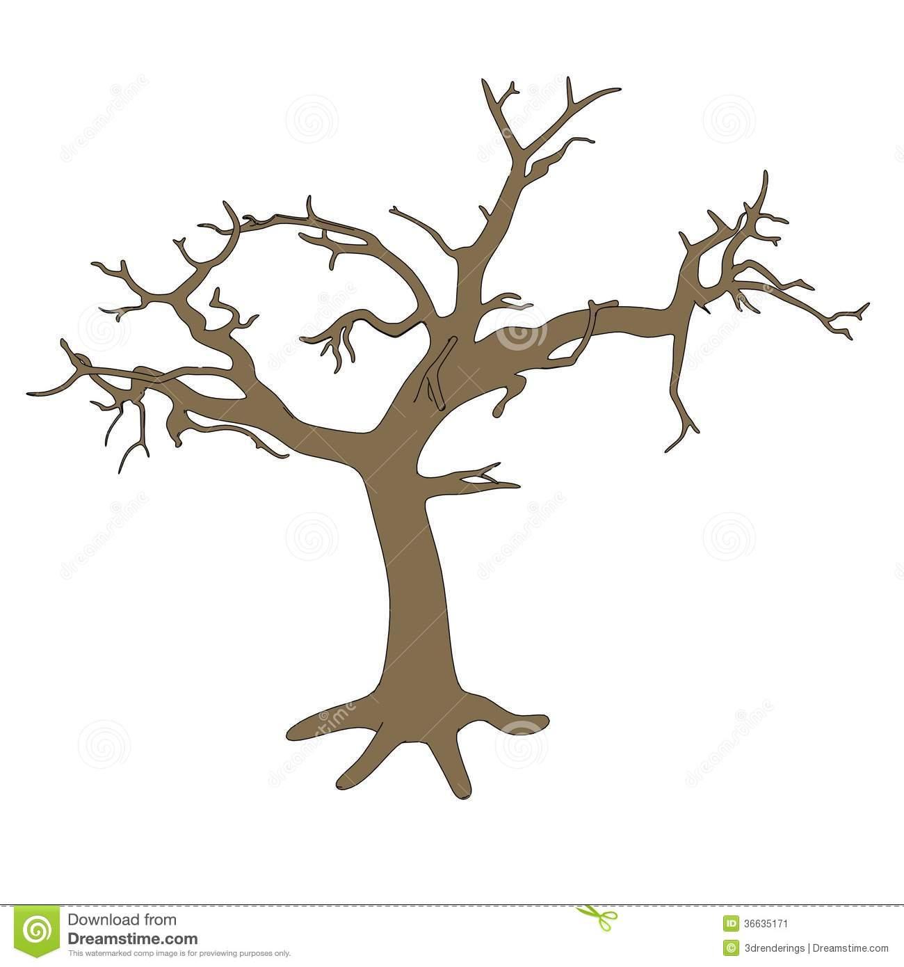 Image Of Dead Tree Stock Image.
