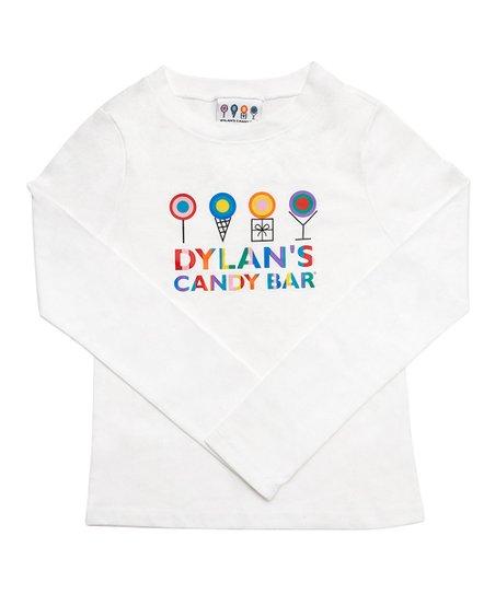 Dylans Candy Bar White Logo Long.
