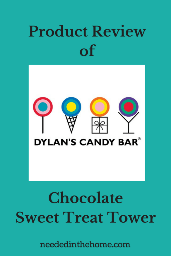 Product Review of Dylan\'s Candy Bar Chocolate Sweet Treat Tower.