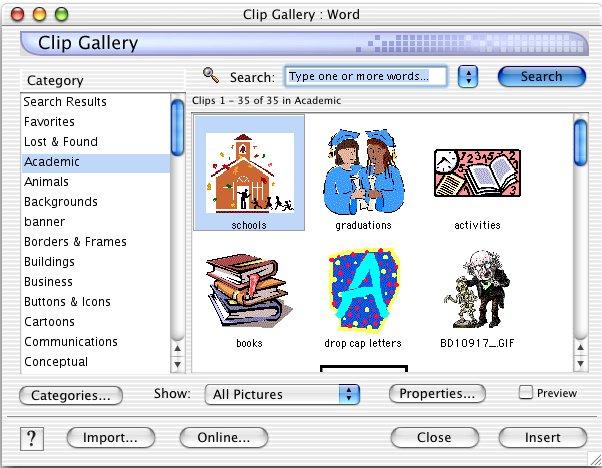 Dynamic clipart mac.
