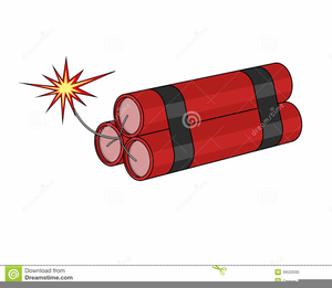 Dynamite Stick Clipart.