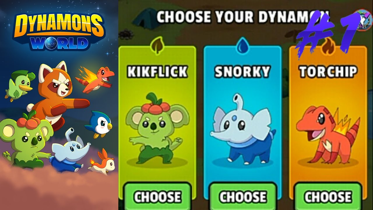 Dynamons Worlds Android Gameplay #1 :.