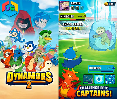 Dynamons 2 Game.