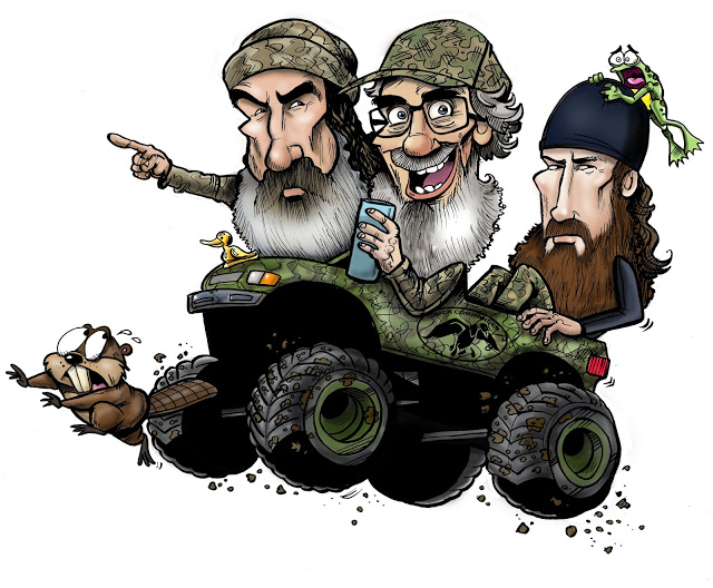 Duck Dynasty Cartoon Clipart.