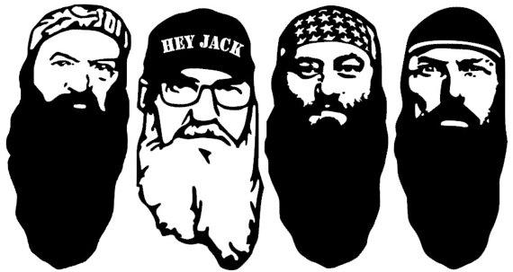 Duck dynasty clip art.