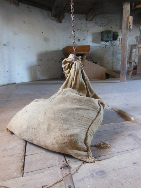 Old windmill dyrhave mill interior sack Free stock photos in JPEG.