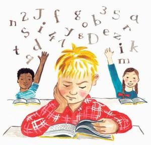 Dyslexia.