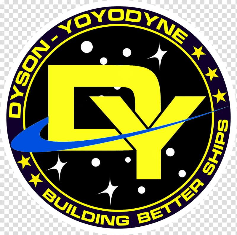 Dyson Yoyodyne Corporation Logo transparent background PNG.