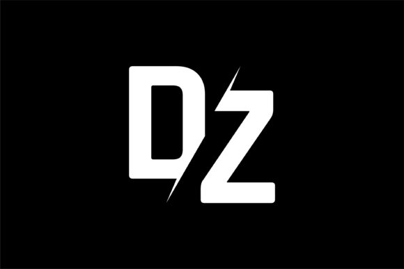 Monogram DZ Logo.
