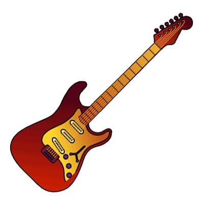 Bass guitar clipart hd.
