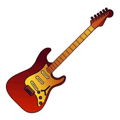 Bass guitar clipart hd.