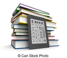 E books Stock Illustrations. 18,591 E books clip art images and.