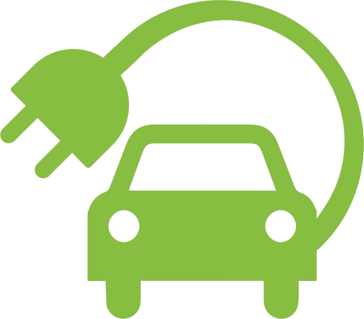 Electric vehicle clipart.