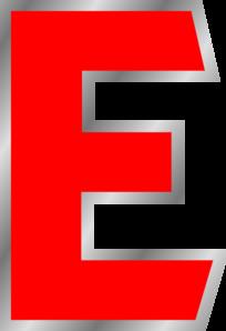 Uppercase E Clip Art at Clker.com.
