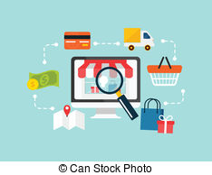 Ecommerce Stock Illustrations. 36,162 Ecommerce clip art images.