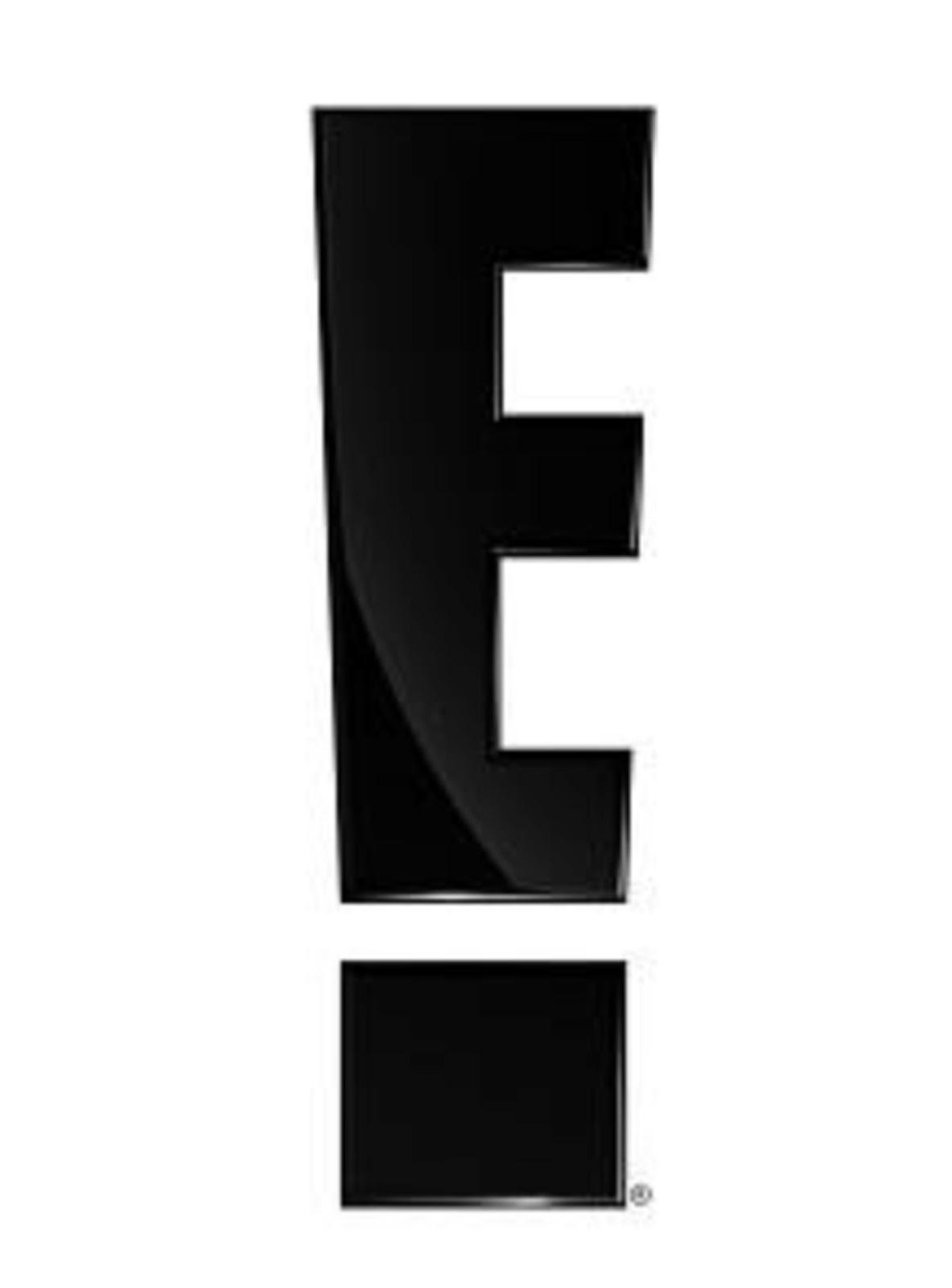 E entertainment Logos.