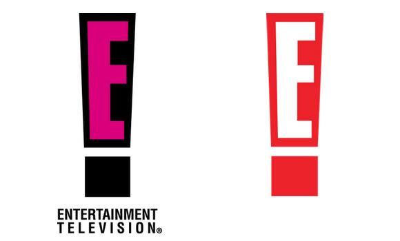 Logo design news: E! gets a makeover.