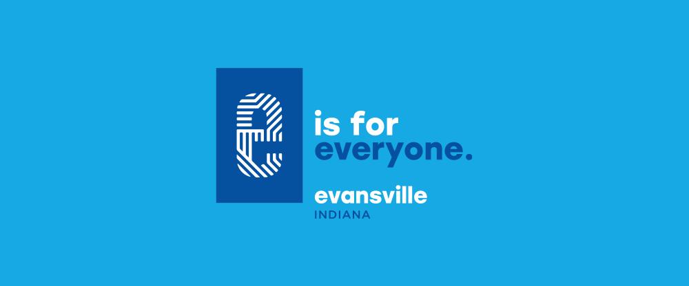 Brand New: New Logo for Evansville, IN.