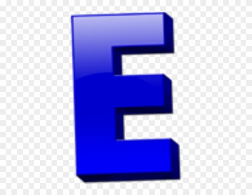 Letter E Icon.