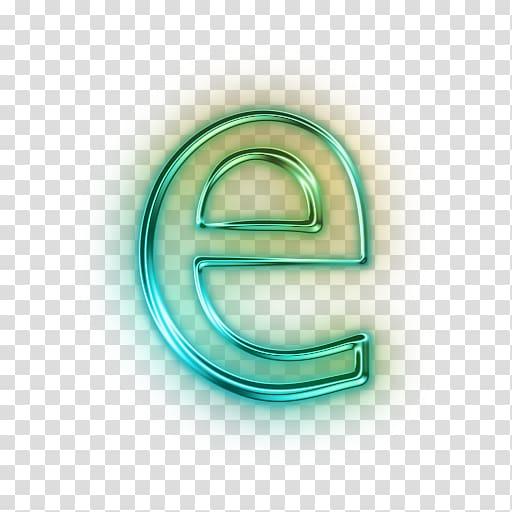 Green e , Letter case Computer Icons, Icon Letter E.
