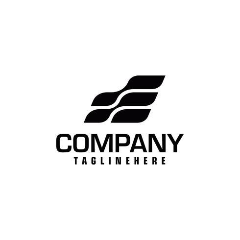 Speed Letter Initial E Logo Design Template.