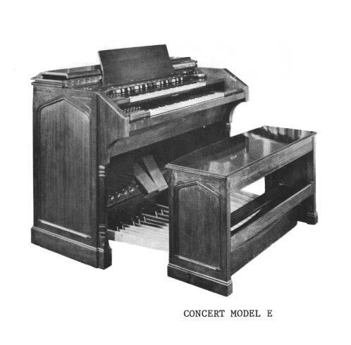 Hammond organ clipart.