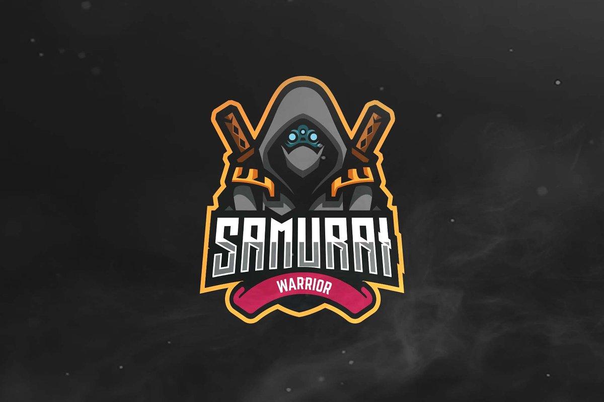 Samurai Sport and Esports Logo.