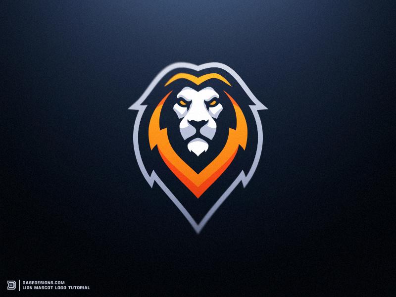 Lion eSports Logo Tutorial Dasedesigns by Derrick Stratton.