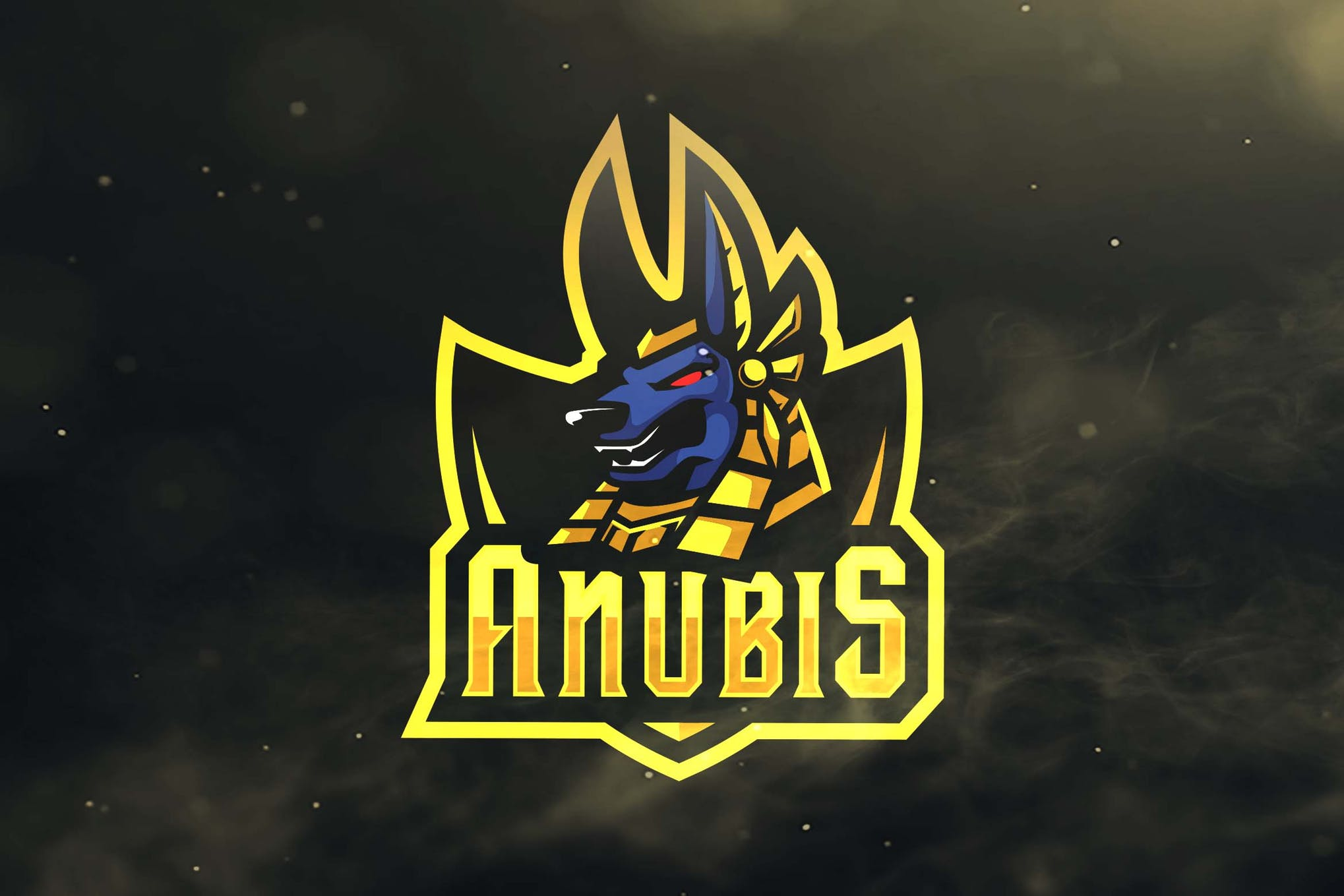 Anubis Sport and Esports Logos by ovozdigital on Envato Elements.