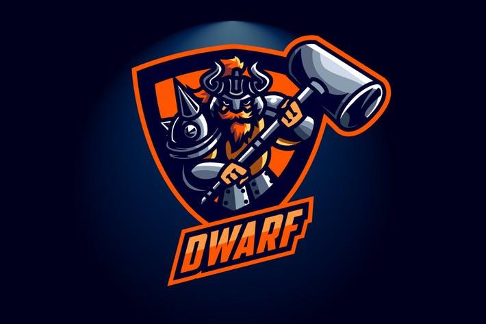 Dwarf Esports Logo by Suhandi on Envato Elements.