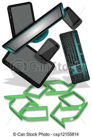 E waste Illustrations and Stock Art. 104 E waste illustration.
