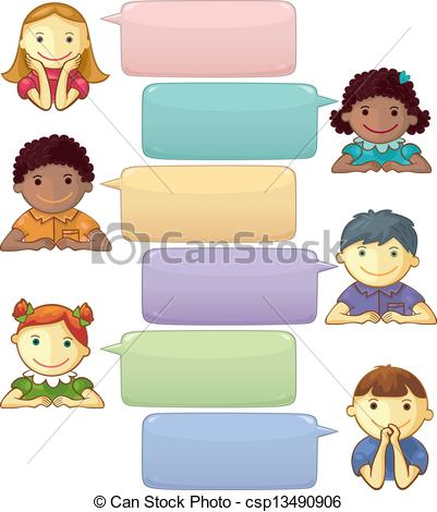Clip Art Of Listening To Each Other Clipart.