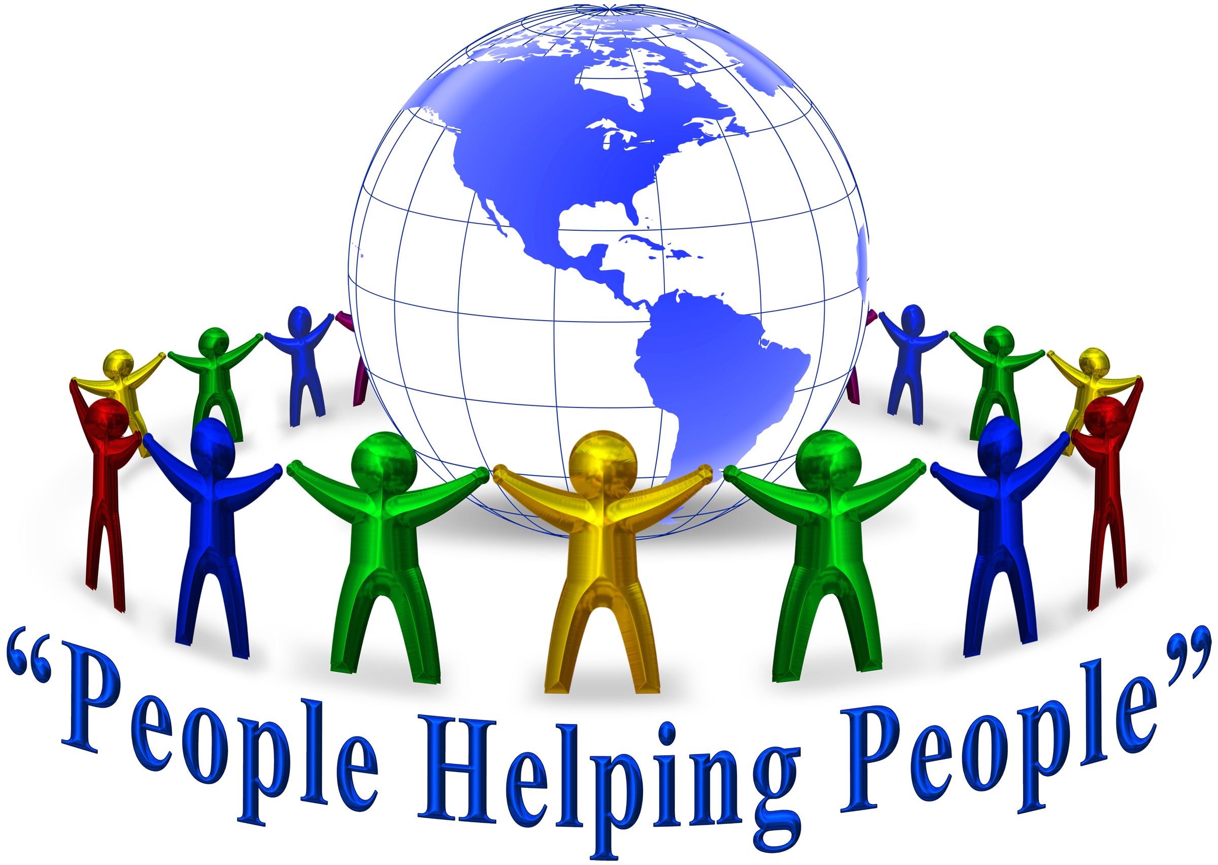 People Helping Each Other Clipart.