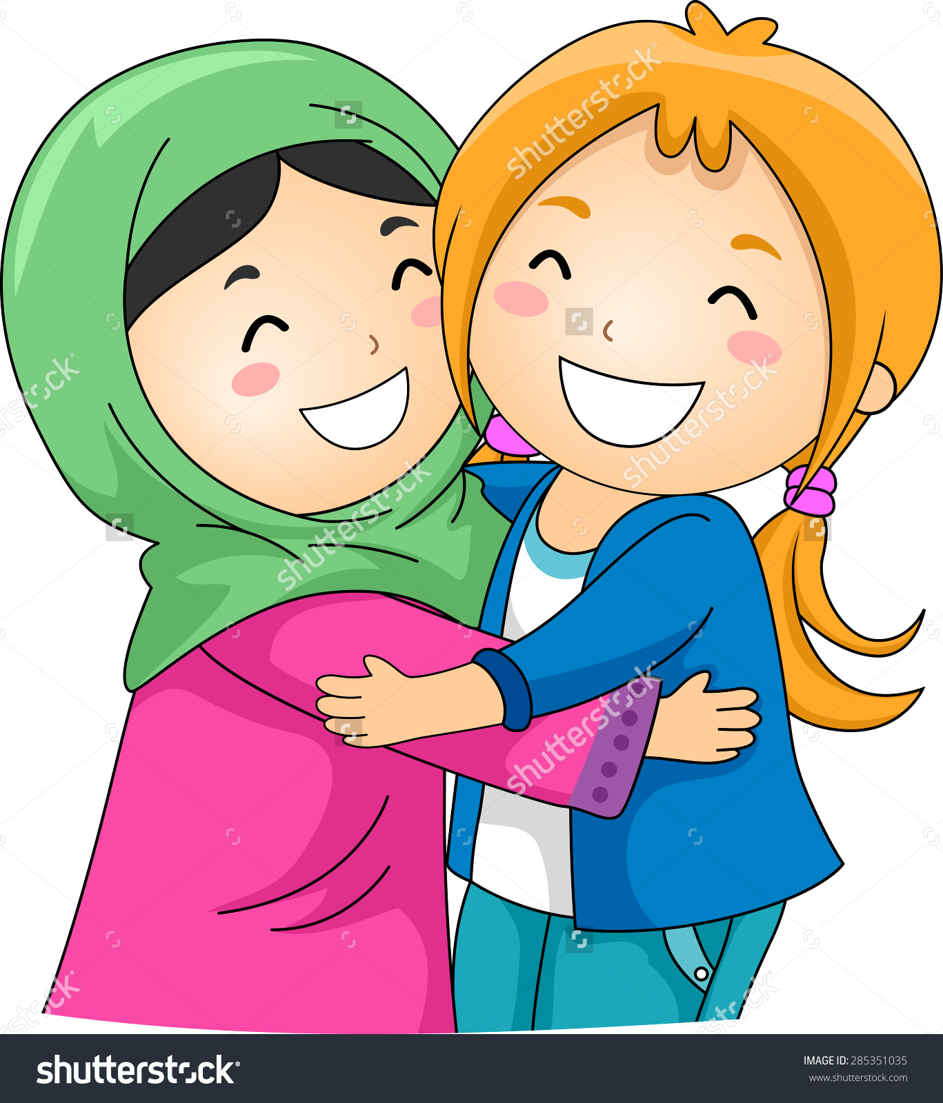 Love Each Other Cartoon: Each Other To Clipart