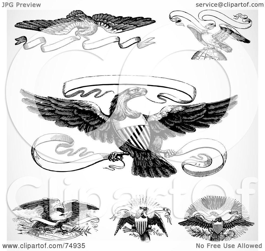 Similiar Eagle Holding Scroll Banner Keywords.