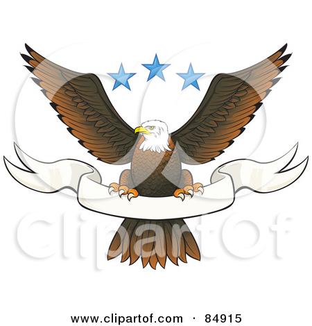 Eagle Banner Clipart.