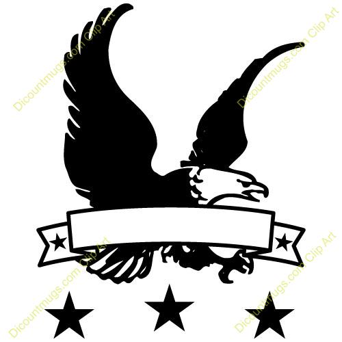 Similiar Eagle With Banner Clip Art Keywords.