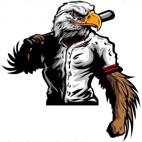 Eagle clipart baseball, Eagle baseball Transparent FREE for.