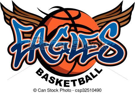 Eagle Basketball Clipart.