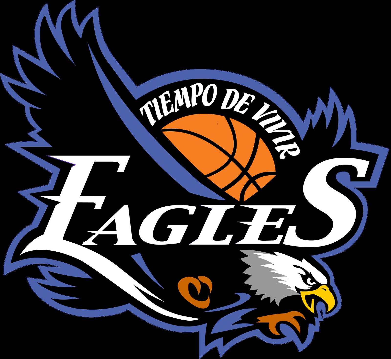 Eagles Basketball Team Logo Clipart.