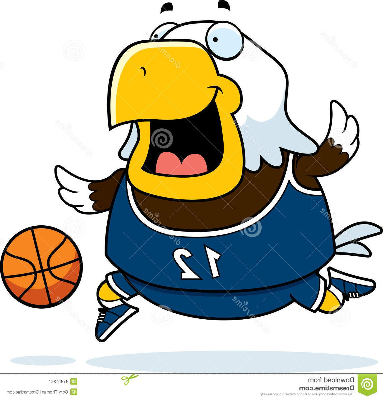 Best Free Eagle Playing Basketball Clip Art Photos » Free.