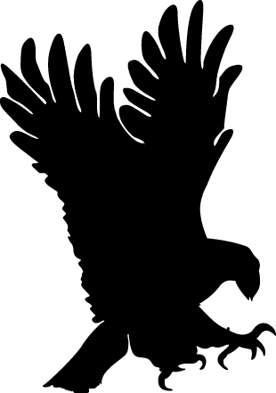 Eagle clipart black and white free clipart images.