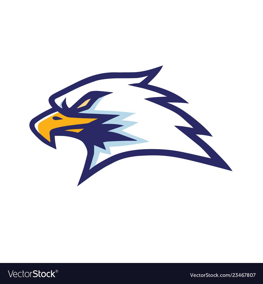 Eagle logo design template icon.