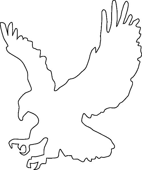 White Eagle clip art.
